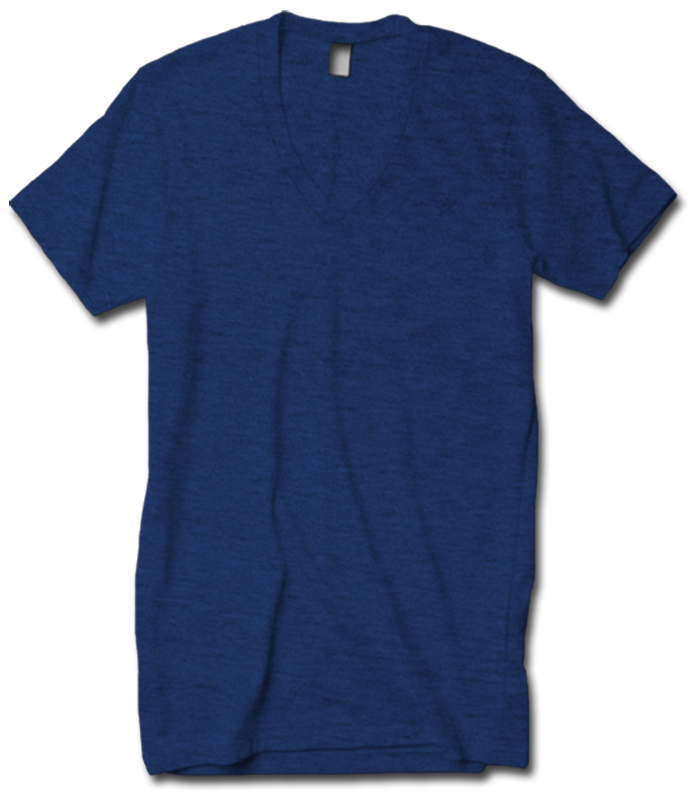 American Apparel Tri-Blend V-Neck