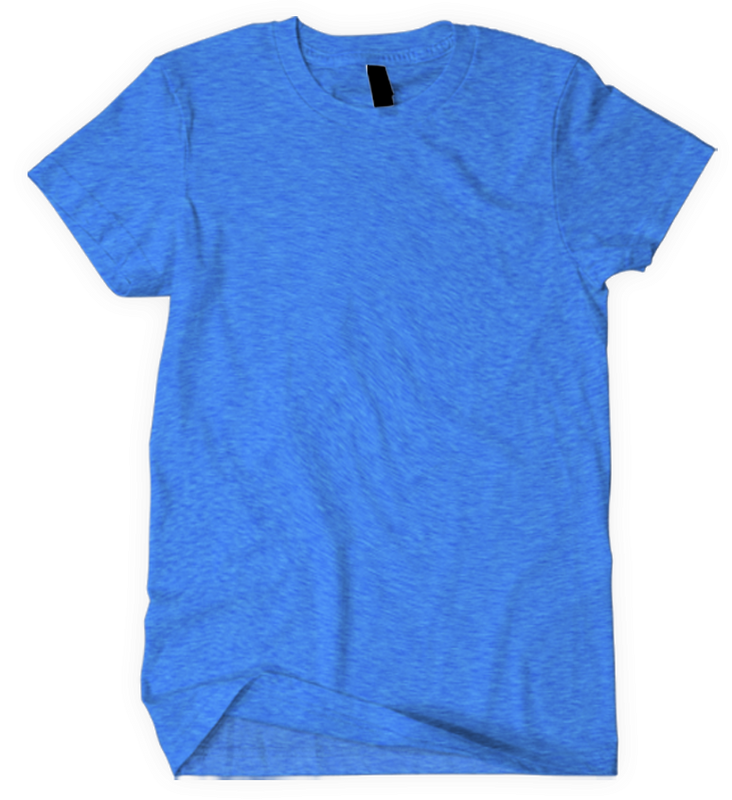 American Apparel TR401 Tri-Blend T-Shirt  (Available in 9 Colors)