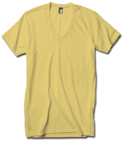 American Apparel AA2456ORG Organic Fine Jersey V Neck