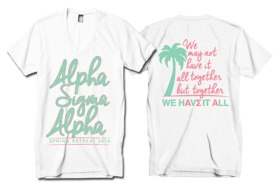 Alpha Sigma Alpha Palm Tree Spring Retreat