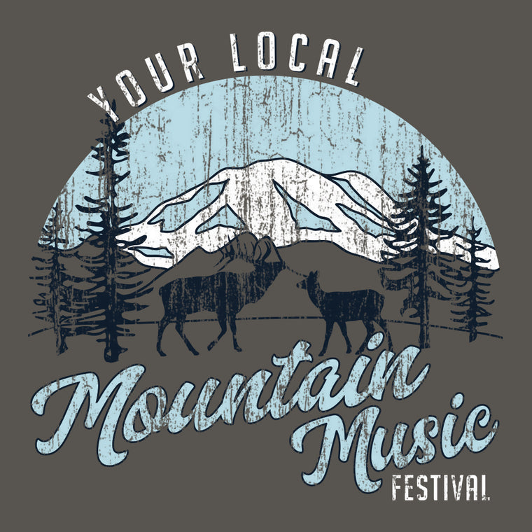 Mountain Music Festival Design