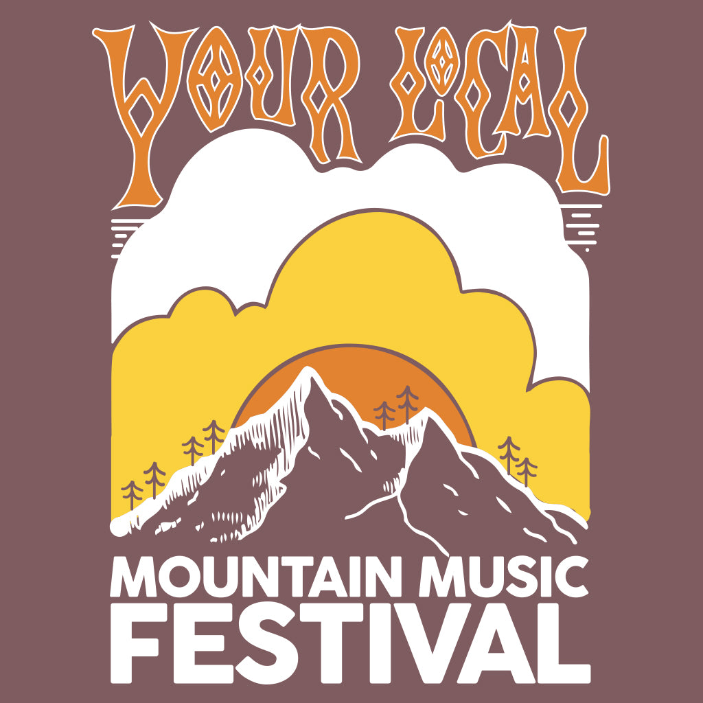 Your Local Mountain Music Fesitval Design