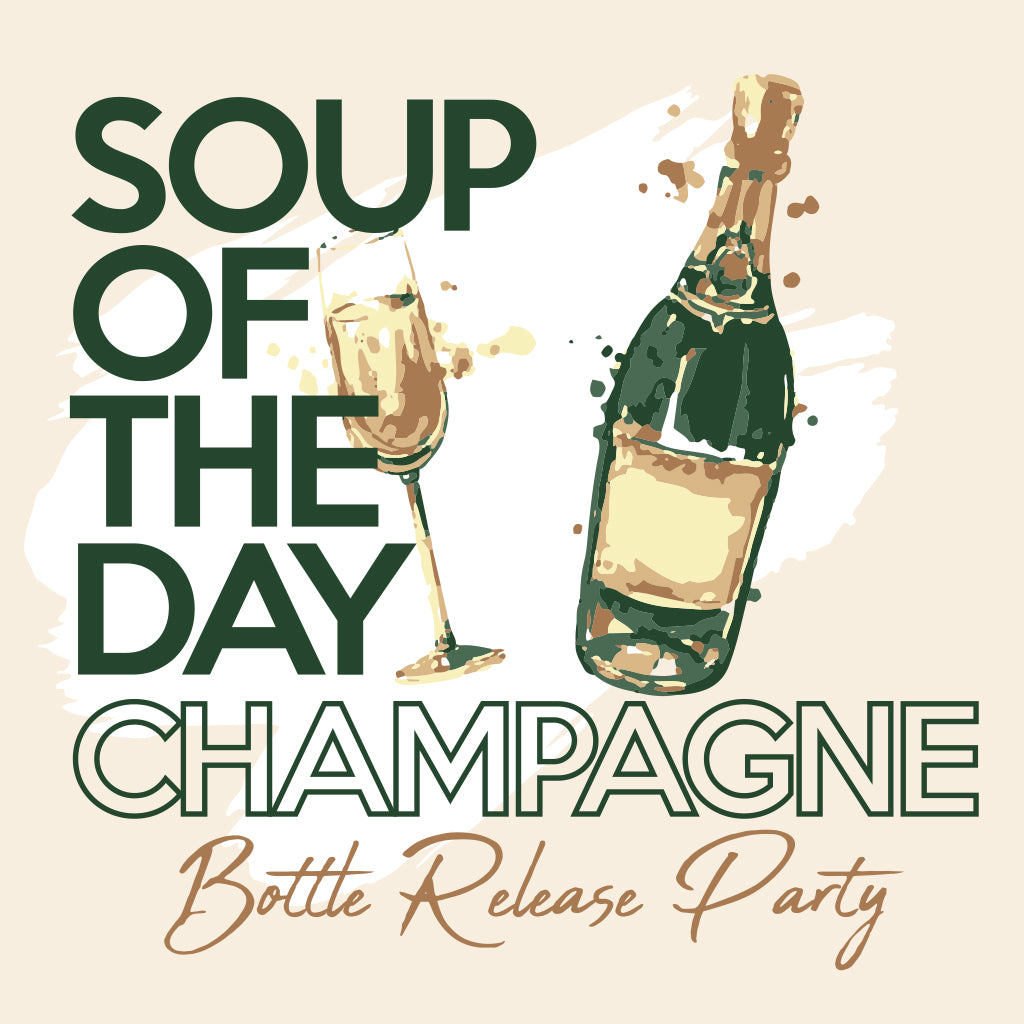 Champagne Winery Release Party Design