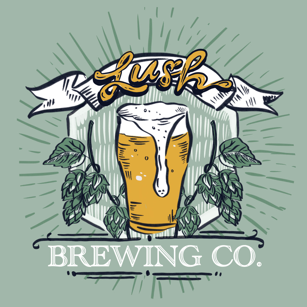 Lush Brewing Company Design