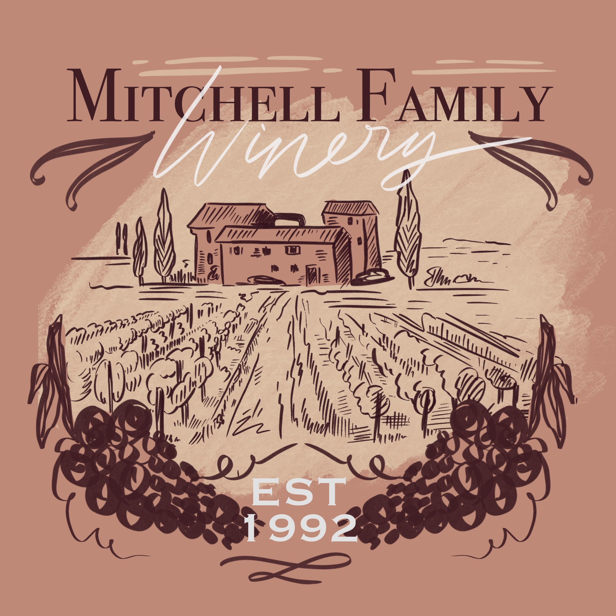 Mitchell Family Winery Scenic Design