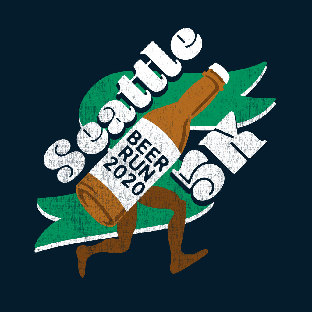 Seattle 5K Beer Run Design