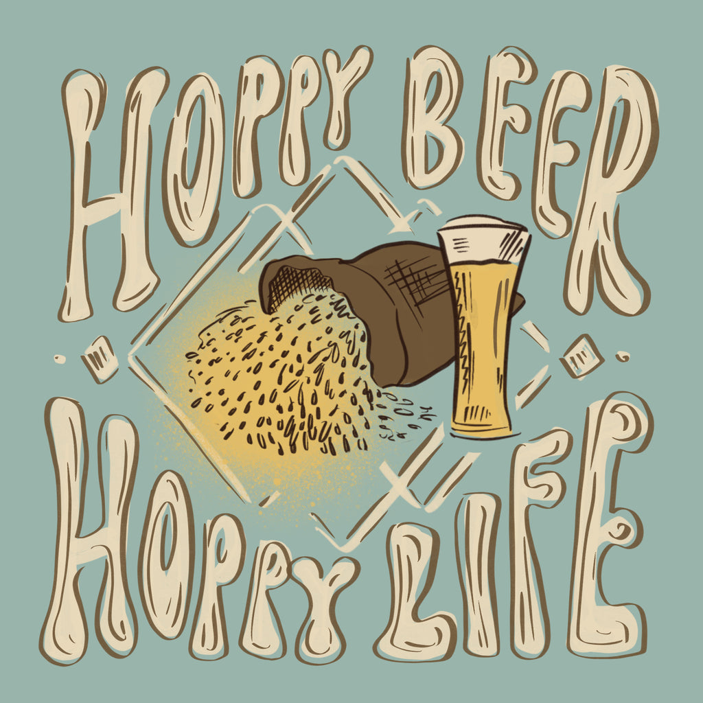 Hoppy Beer Hoppy Life Brewery Design