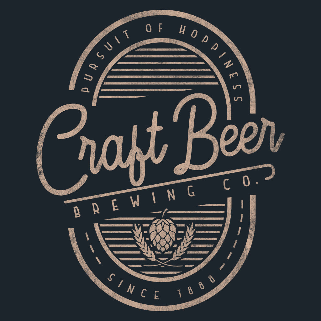 Craft Brewing Co. Logo Design