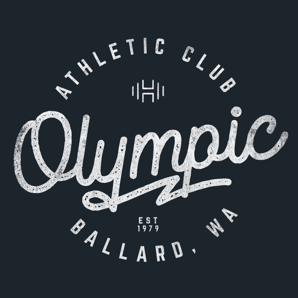 Olympic Athletic Club Vintage Design
