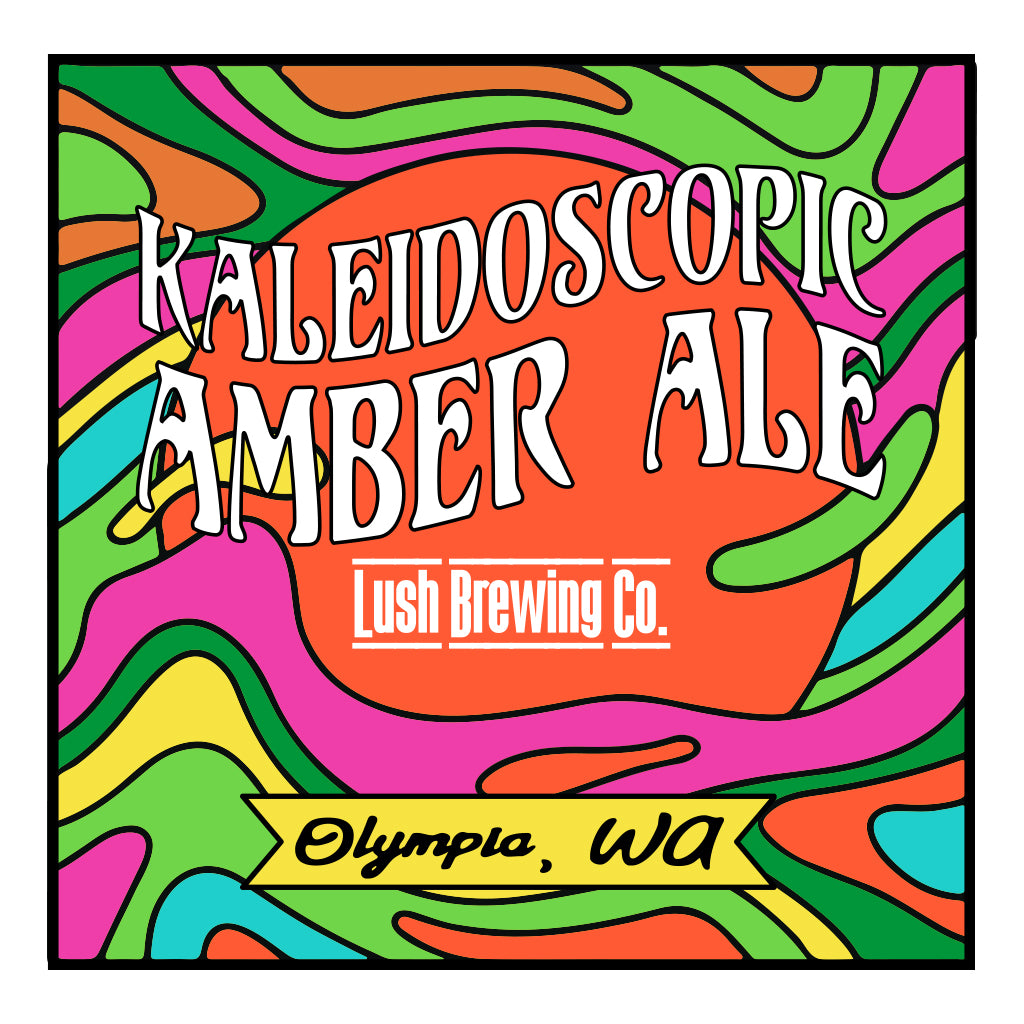 Kaleidoscopic Amber Ale Design