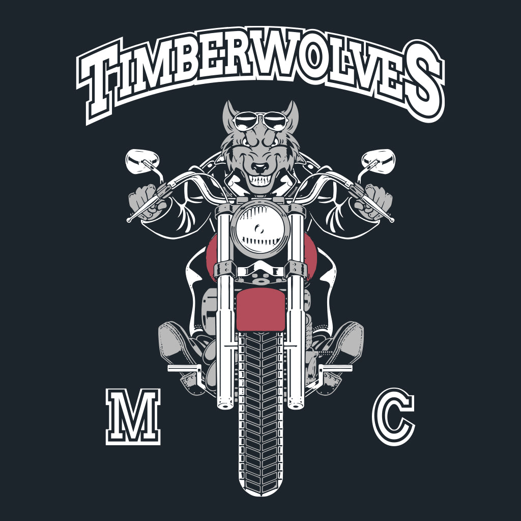 Timberwolves Motorcycle Club Design