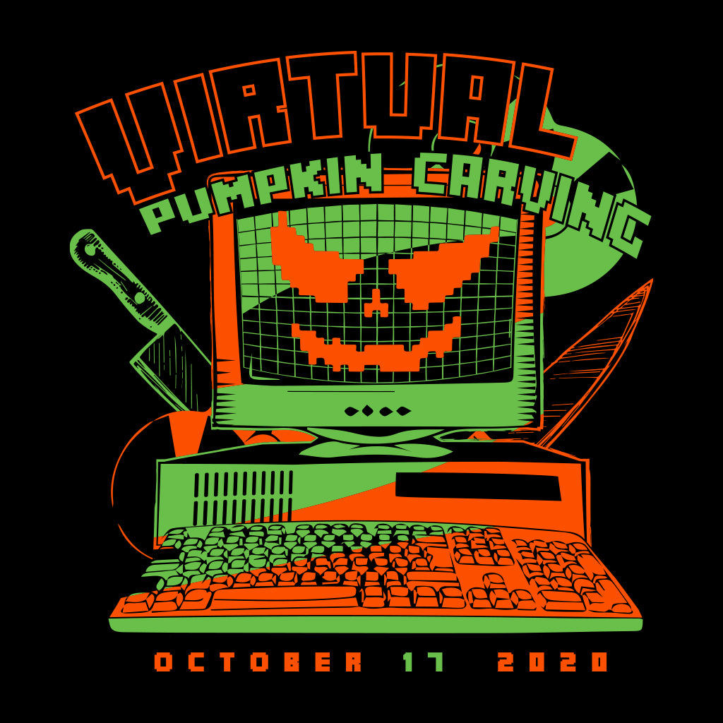 Virtual Pumpkin Carving Design