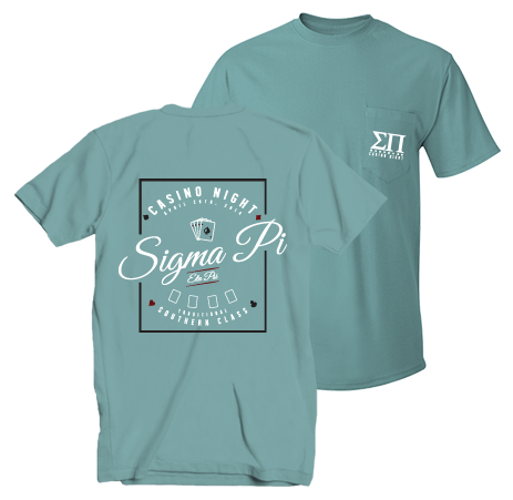 Sigma Pi Casino Night Shirt