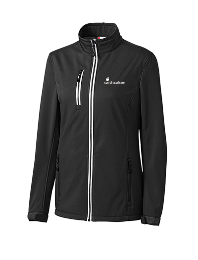 Coordinated Care Apparel July 2018 - Ladies Telemark Softshell Jacket (Available in 2 Colors)