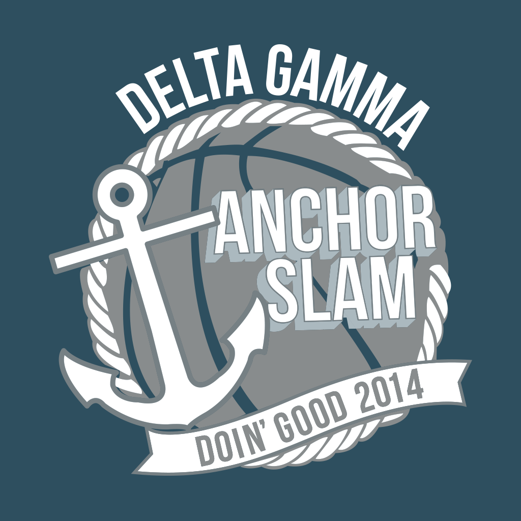 Delta Gamma Anchor Slam Design