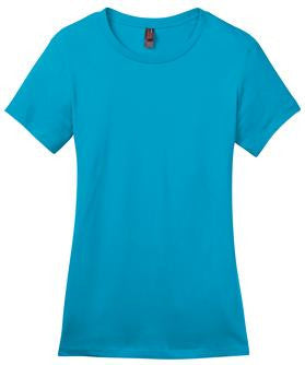 District Made DM104L Ladies Fit T-Shirt  (Available in 22 Colors)