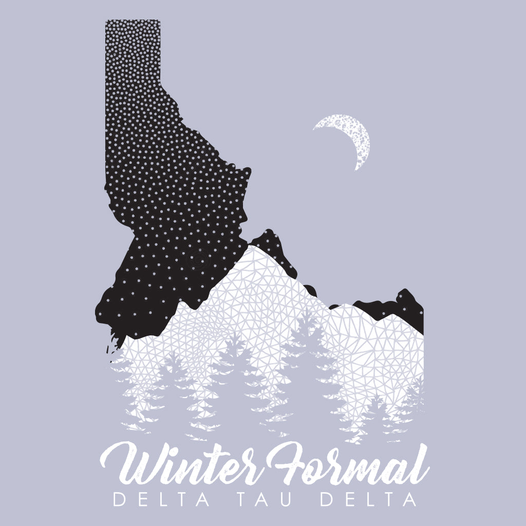 Delta Tau Delta Idaho Winter Formal Design