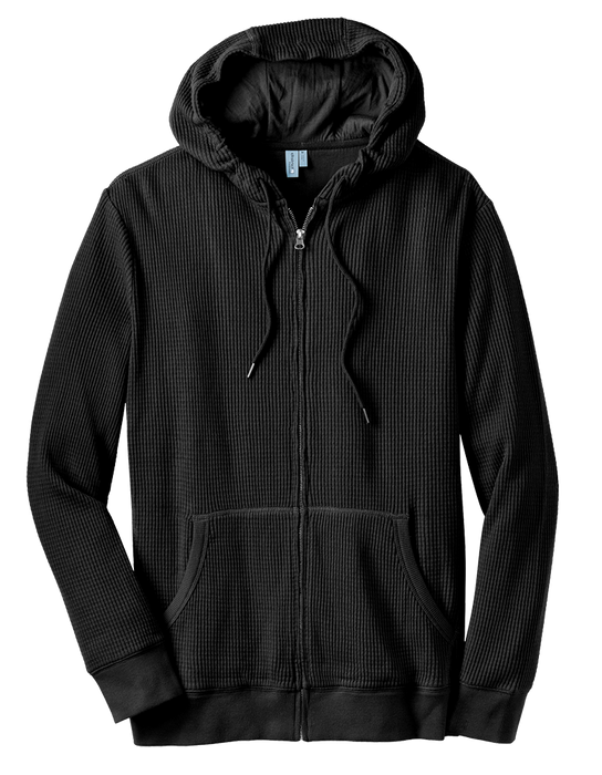 District Heavyweight Thermal Full-Zip Hoodie