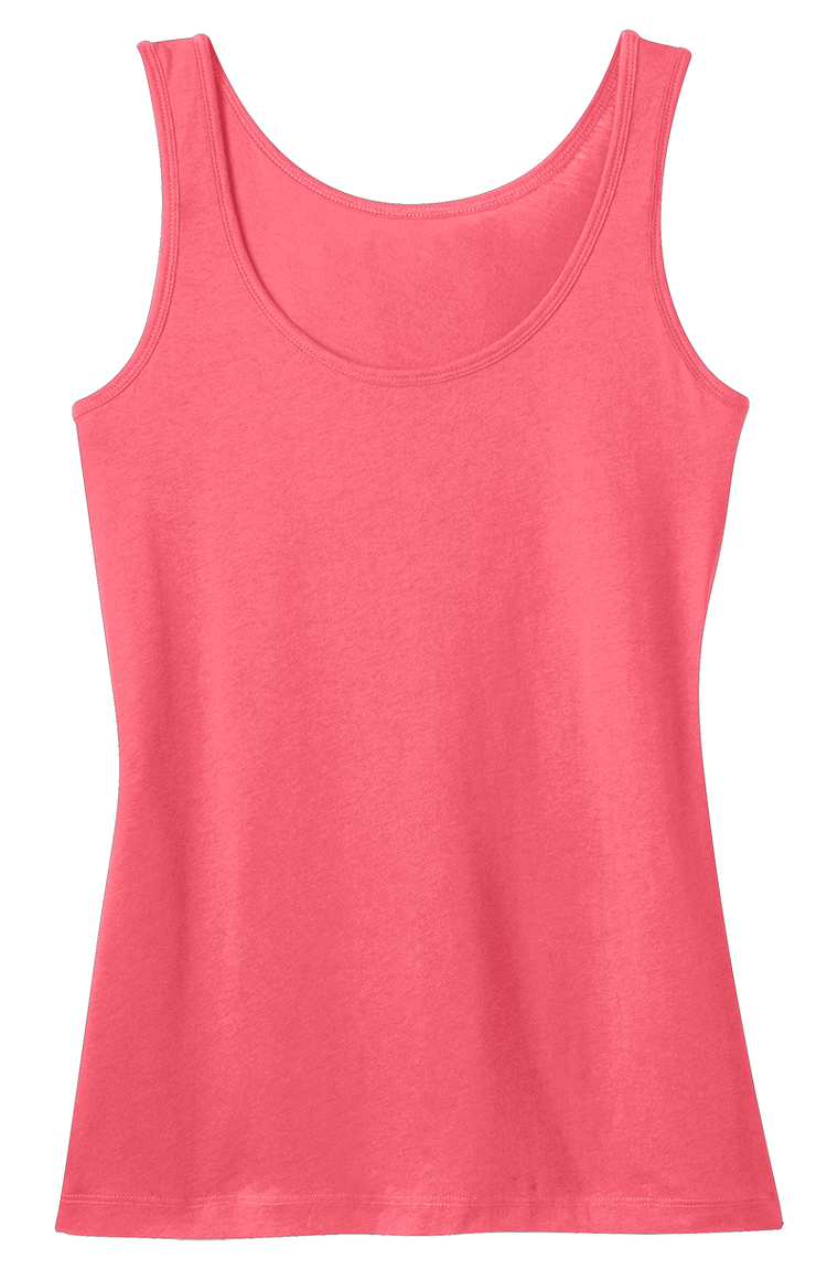 District DM481 Ladies Modal Tank  (Available in 7 colors)