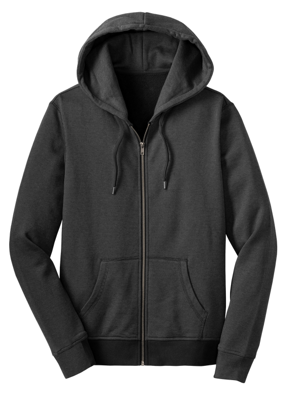 District Mini Stripe Full-Zip Hoodie