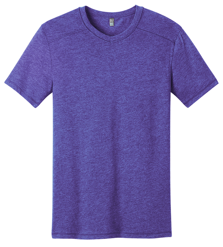 District DT1400 Gravel Notch Crew Tee
