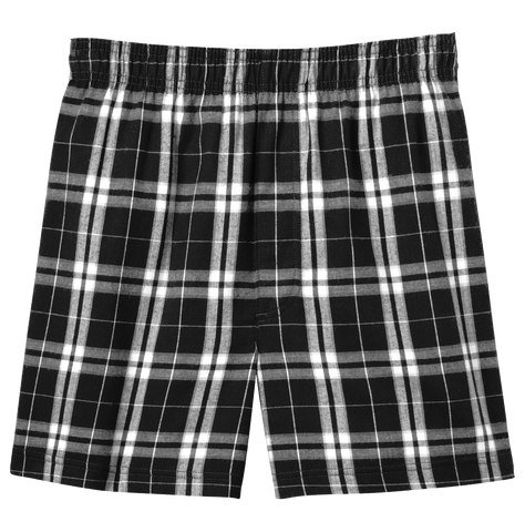 District Flannel Plaid Boxer