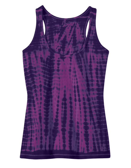 District DT2301 Juniors Tie-Dye Racerback Tank