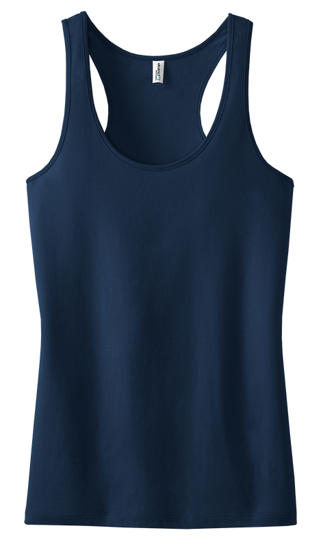 District Threads DT237 Ladies Racerback Tank Top  (Available in 13 colors)