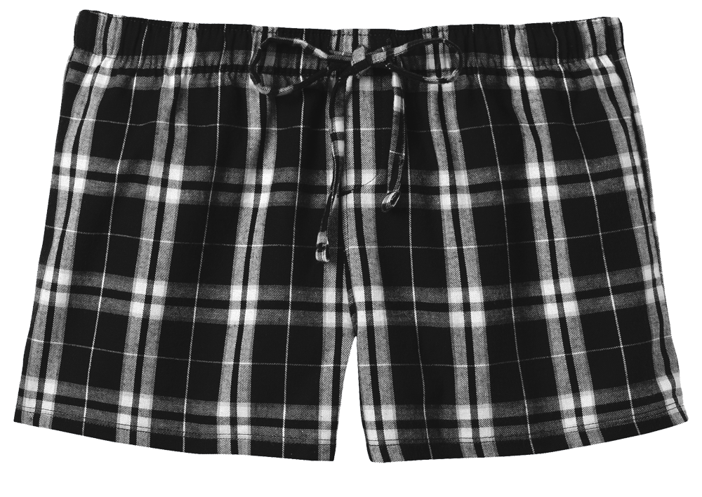 District Juniors Flannel Plaid Boxer
