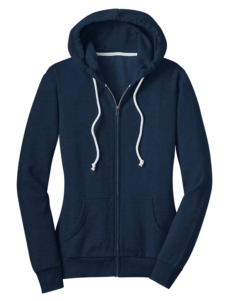 District Juniors Core Fleece Full-Zip Hoodie