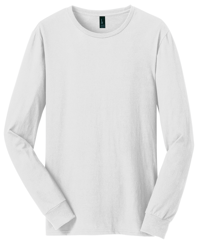 District Threads DT5200 Concert Long Sleeve  (Available in 4 colors)