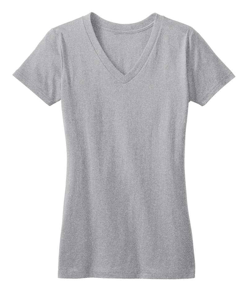 District Threads DT5501 Ladies Concert  V-Neck  (Available in 12 Colors)