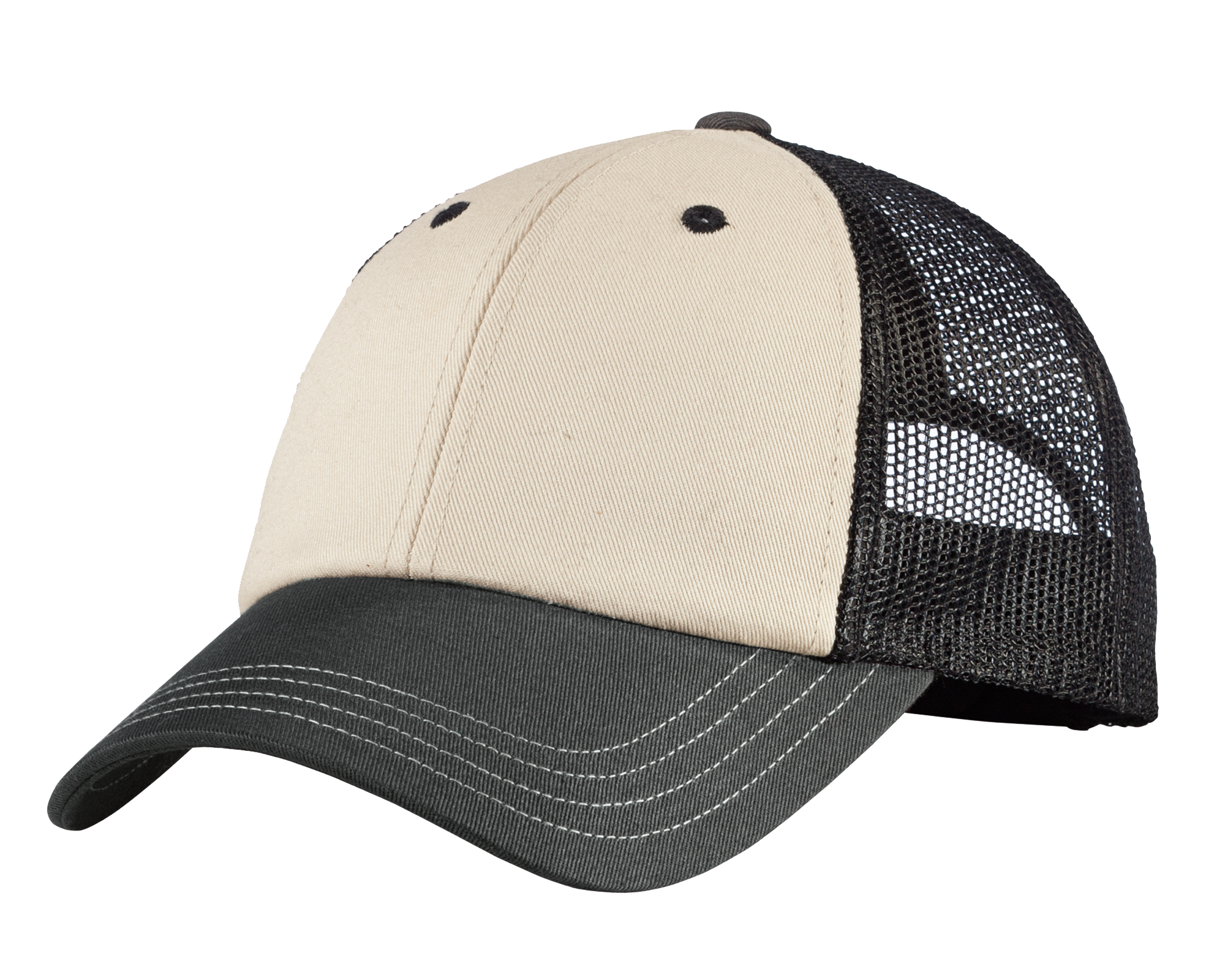 District Tri-Tone Mesh Back Cap
