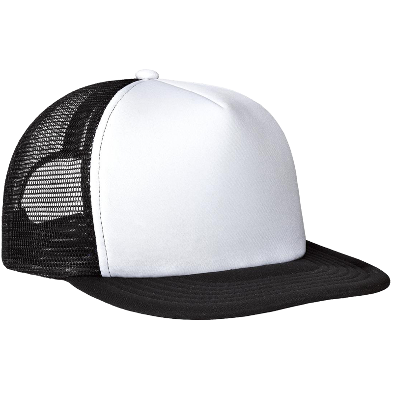 District Flat Bill Snapback Trucker Cap