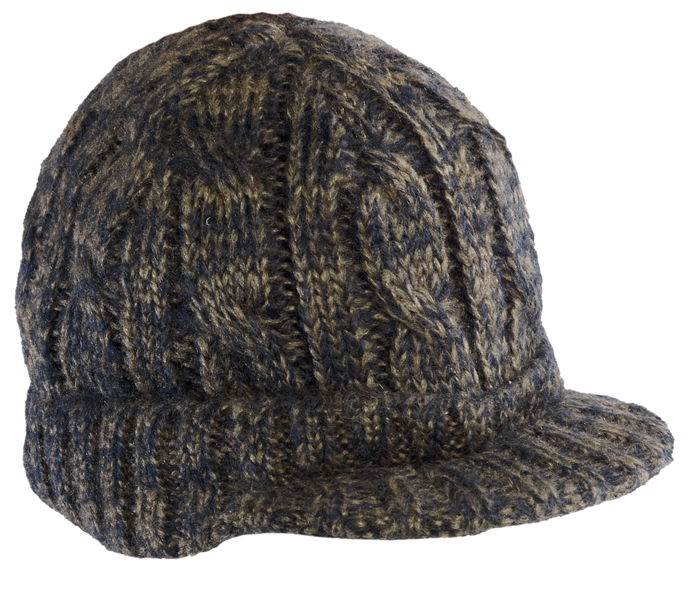 District Cabled Brimmed Hat