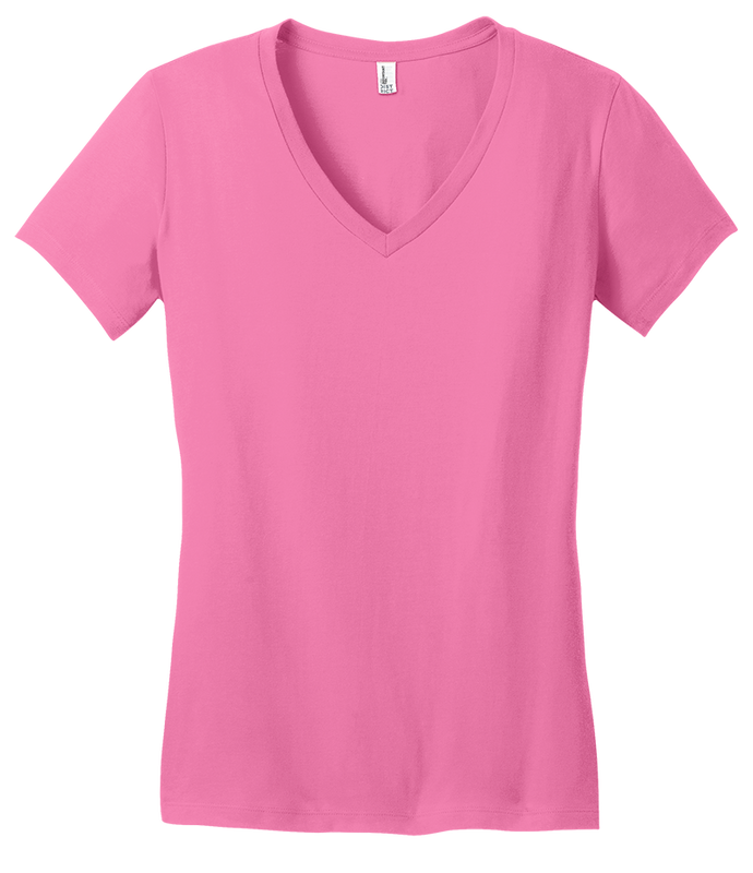 District Threads DT6501 Ladies Very Important Vee