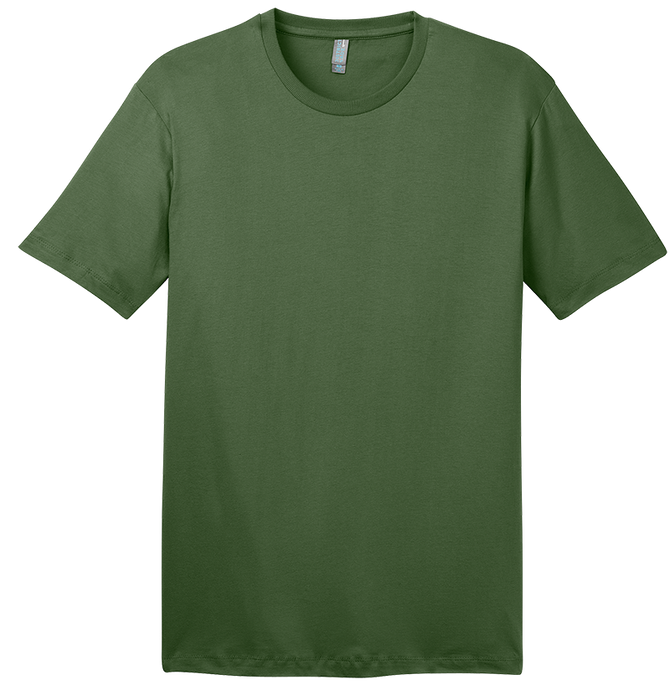 District DT104ORG Organic Cotton Perfect Weight Crew
