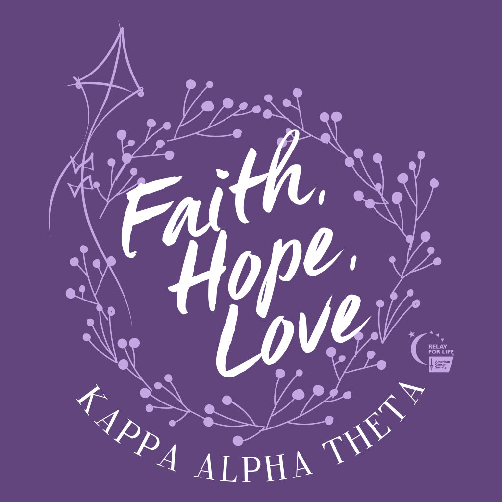 Kappa Alpha Theta Relay For Life Design