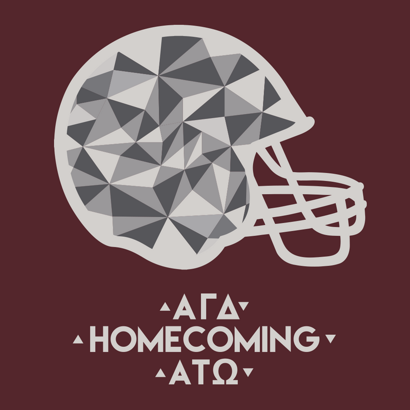 Alpha Gamma Delta Homecoming Design