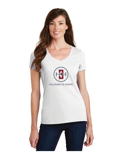 Hilinski's Hope November 2018 - Ladies V-Neck Tee (Available in 3 Colors)