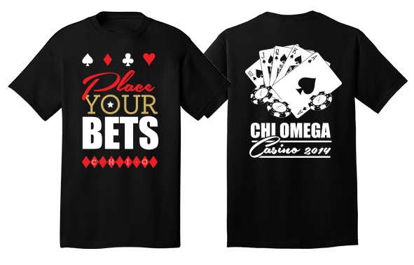 Place Your Bets! Chi Omega Casino