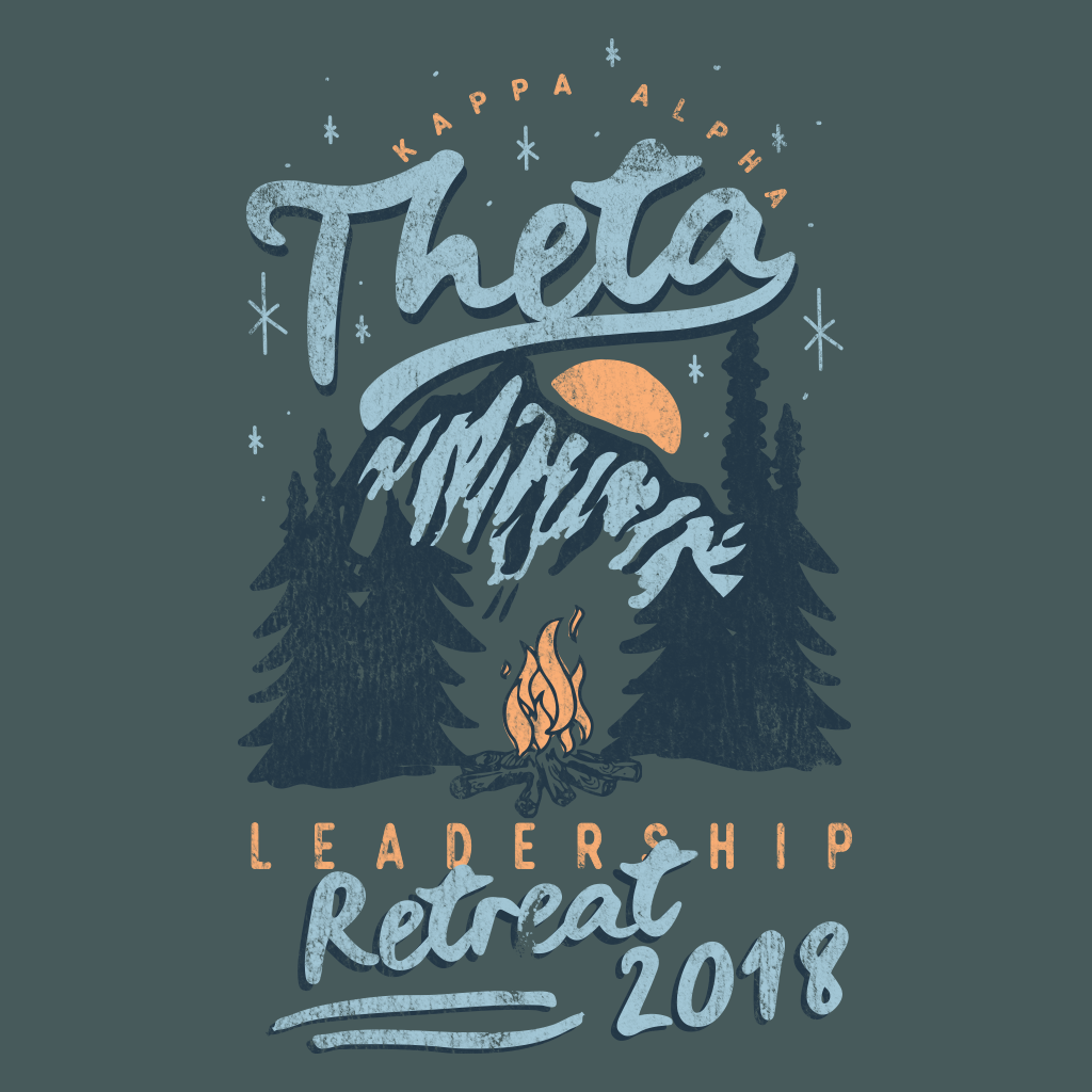 Kappa Alpha Theta Leadership Retreat Mountain Design