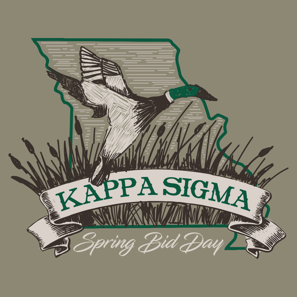 Kappa Sigma Spring Bid Day Missouri Design
