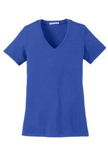 Port Authority LM1005 Ladies V-Neck (Available in 8 Colors)