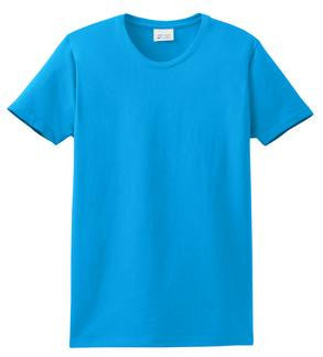 Port & Company LPC61 Ladies Fit T-Shirt  (Available in 37 Colors)