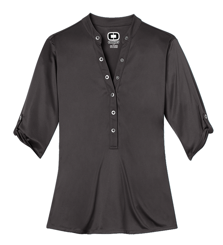 Ogio LOG111 Crush Henley