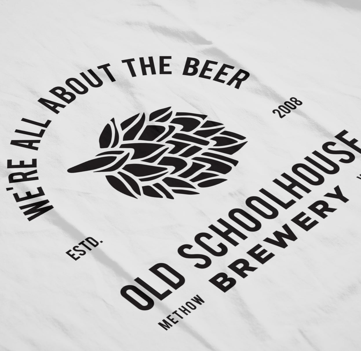 Old Schoolhouse Brewery Work Shirts 2017 Design