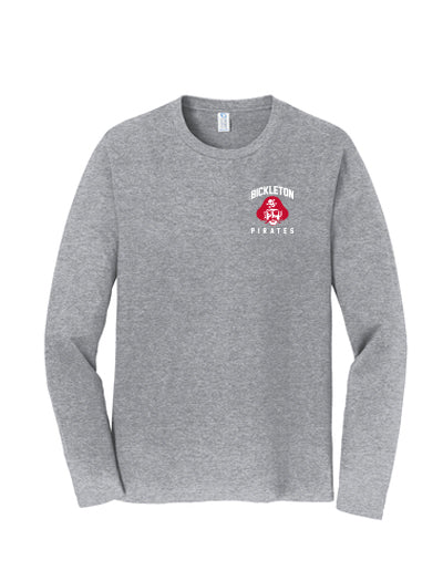 Bickleton School Pride Apparel September 2018 - Parent Long Sleeve Tee