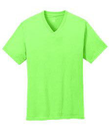 Port & Company PC54V Unisex V-Neck Shirt  (Available in 15 Colors)