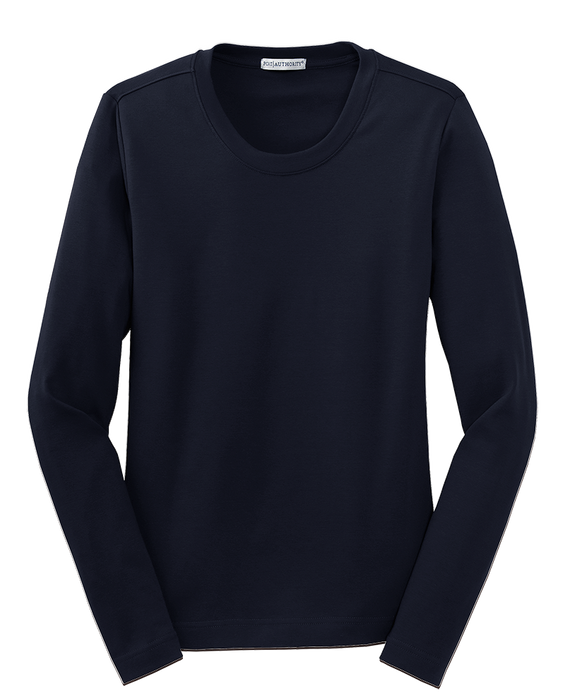 Port Authority L518 Long Sleeve Scoop Neck